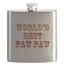 Worlds Best Paw Paw Flask