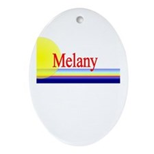 Melany Oval Ornament