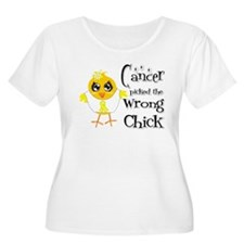 Ewings Sarcoma Picked The Wrong Chick T-Shirt