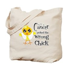 Ewings Sarcoma Picked The Wrong Chick Tote Bag