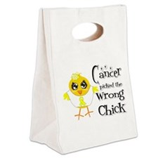 Ewings Sarcoma Picked The Wrong Chick Canvas Lunch