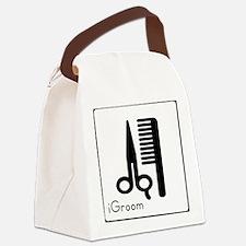 iGroom.jpg Canvas Lunch Bag