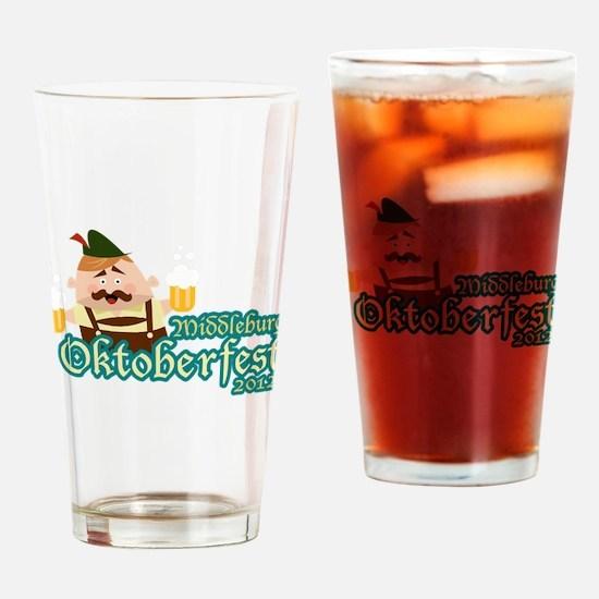 Middleburg Oktoberfest 2012 Drinking Glass