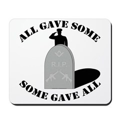 Our Brave Brother Masons Mousepad