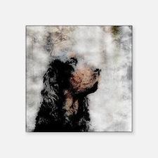 """SpencerHead_Grunge_5_Tile.jpg Square Sticker 3"""" x"""