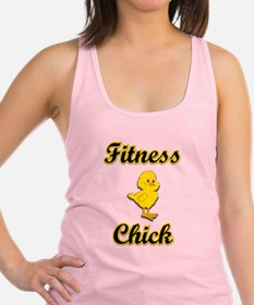 Fitness Chick Racerback Tank Top