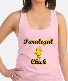 Paralegal Chick Racerback Tank Top
