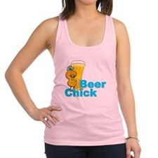Beer Chick #2 Racerback Tank Top