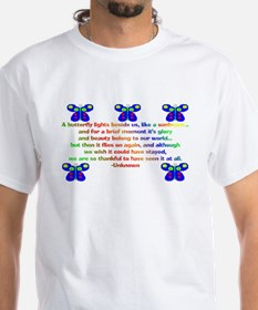 butterfly_quote2 T-Shirt