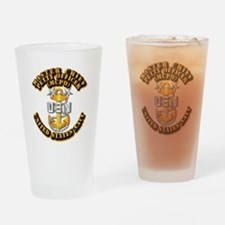 Navy - CPO - MCPO Drinking Glass