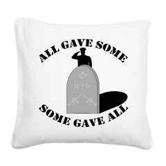 Our Brave Brother Masons Square Canvas Pillow