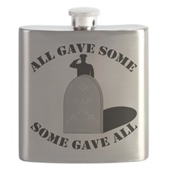 Our Brave Brother Masons Flask