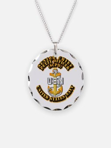 Navy - CPO - SCPO Necklace