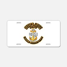 Navy - CPO - SCPO Aluminum License Plate