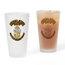 Navy - CPO - SCPO Drinking Glass