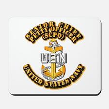 Navy - CPO - SCPO Mousepad