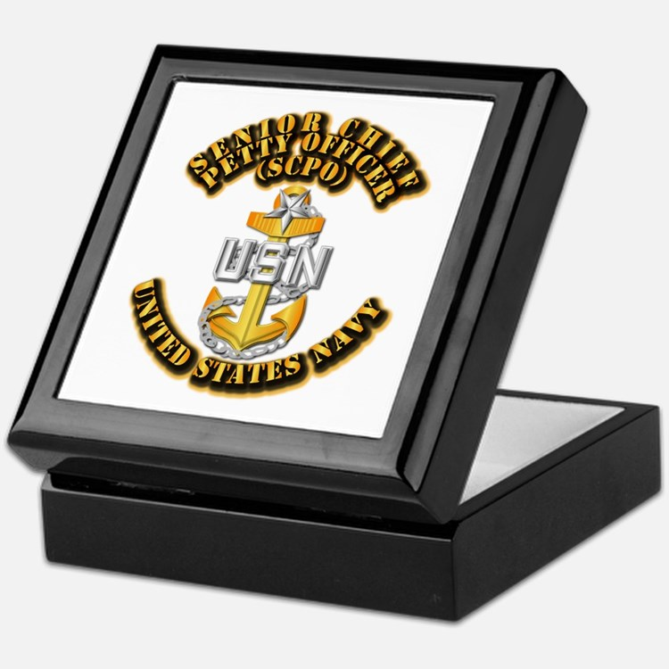 Navy - CPO - SCPO Keepsake Box