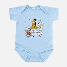 Halloween Airedale Infant Bodysuit
