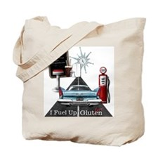 I Fuel Up Gluten Free Tote Bag