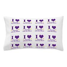 I Heart Dwts Pillow Case