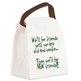 Humor Canvas Lunch Bag