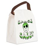 Space cadet png.png Canvas Lunch Bag