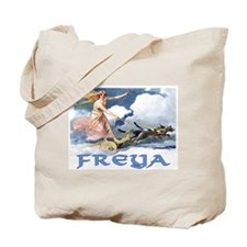 Freya Norse Goddess Tote Bag