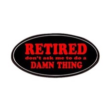 Retired: Don't Ask Me Patch (red on black)