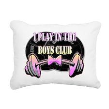 Boys club png.png Rectangular Canvas Pillow