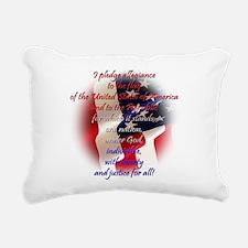 Pledge Rectangular Canvas Pillow