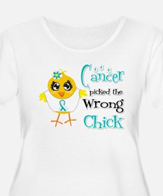 Cervical Cancer Picked The Wrong Chick T-Shirt