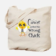 Carcinoid Cancer Picked The Wrong Chick Tote Bag