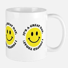 I Pooed Today! Small Mugs