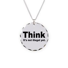 THINK ITS NOT ILLEGAL YET.png Necklace Circle Char