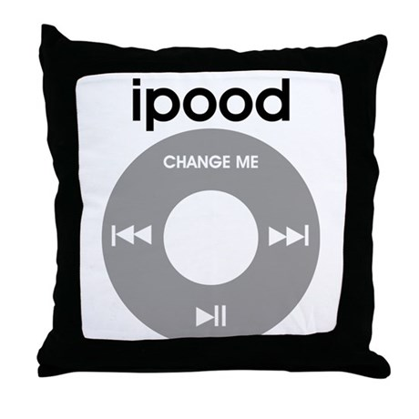 iPood, Funny Baby, iPod Throw Pillow