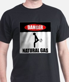 Danger Natural Gas T-Shirt
