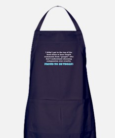 Food chain...vegan - Apron (dark)