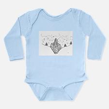 Finger Forest Long Sleeve Infant Bodysuit