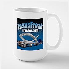 JesusFreakTrucker Large Mug