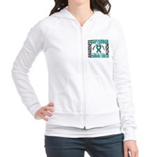 Ovarian Cancer Awareness Month Fitted Hoodie