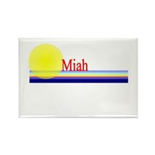 Miah Rectangle Magnet (10 pack)