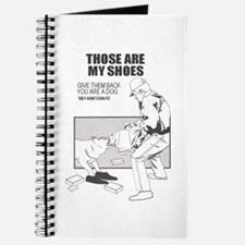 Those are my shoes Journal