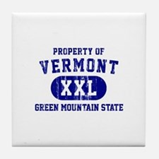 Property of Vermont, Green Mountain State Tile Coa