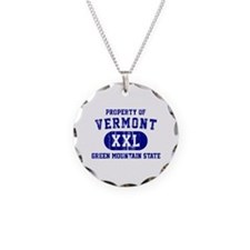 Property of Vermont, Green Mountain State Necklace