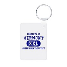 Property of Vermont, Green Mountain State Keychains
