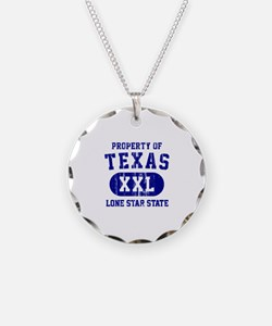 Property of Texas, Lone Star State Necklace