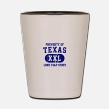Property of Texas, Lone Star State Shot Glass