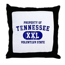 Property of Tennessee, Volunteer State Throw Pillo