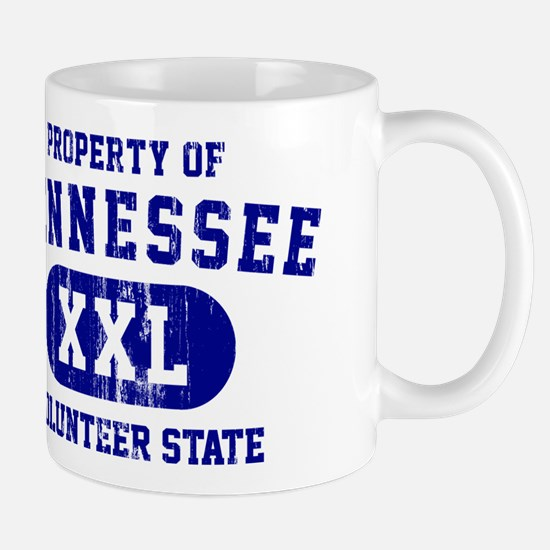 Property of Tennessee, Volunteer State Mug
