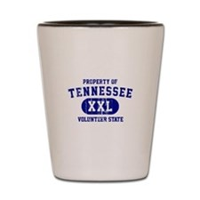 Property of Tennessee, Volunteer State Shot Glass